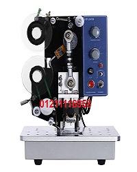 ماكينة طباعة التاريخ علي الاكياس والطبات نصف اوتوماتيك 322